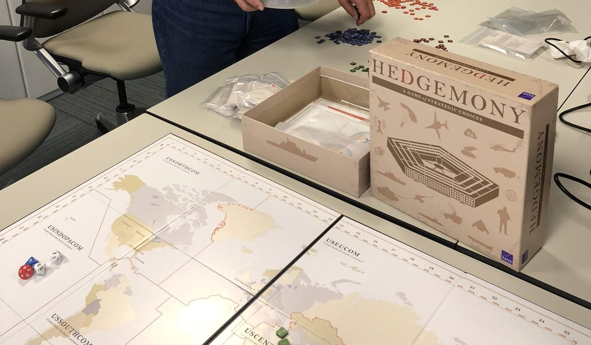 Hedgemony game