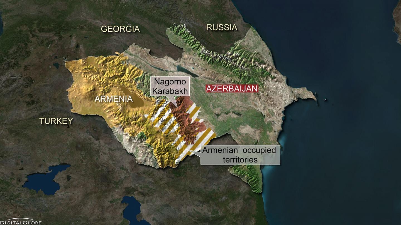 Nagorno-Karabakh satelite