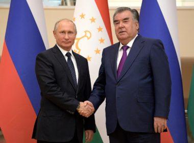 Putin and Rahmon