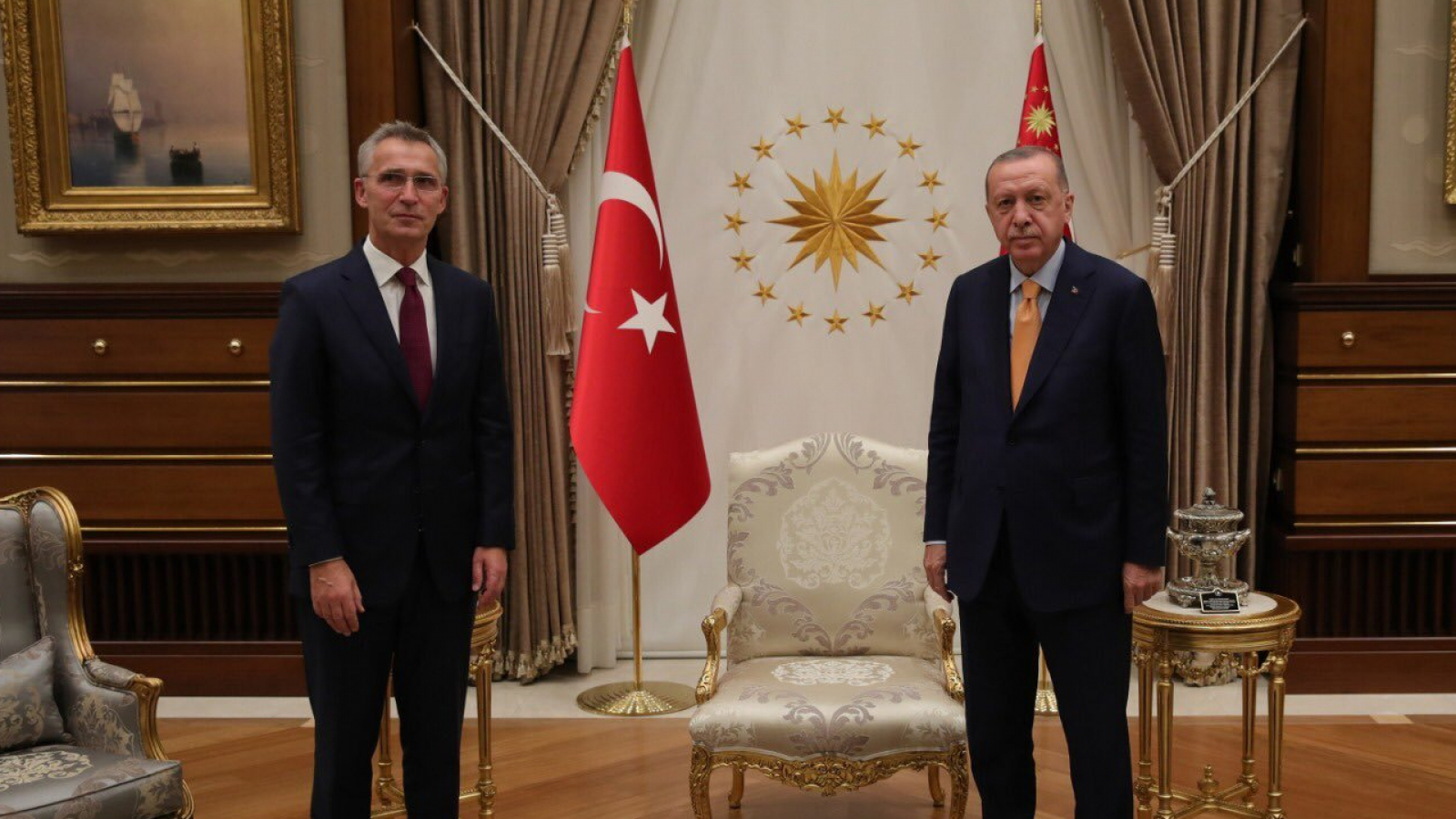 Stoltenberg and Erdogan