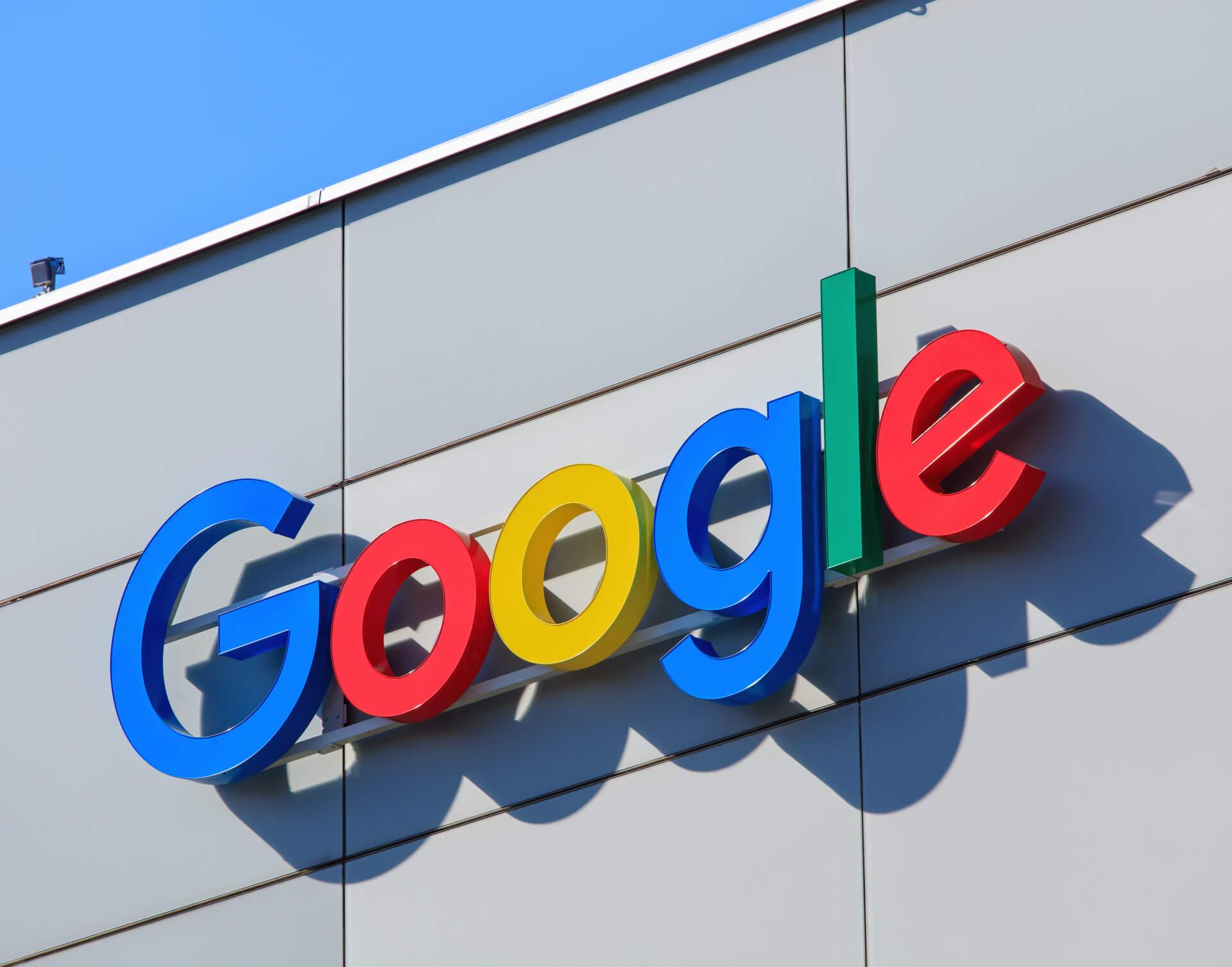 google building logo