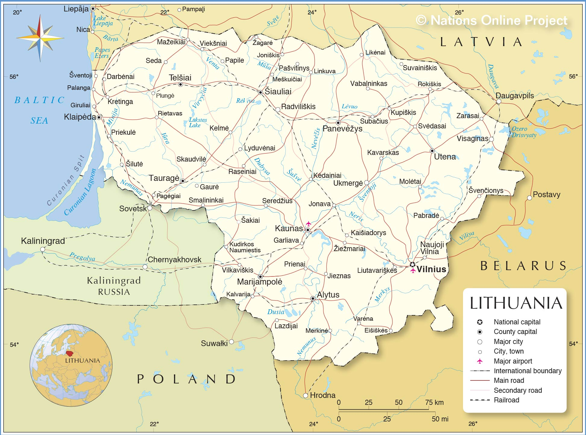 lithuania-map