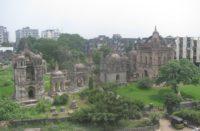 Armenian cemetery in Surat