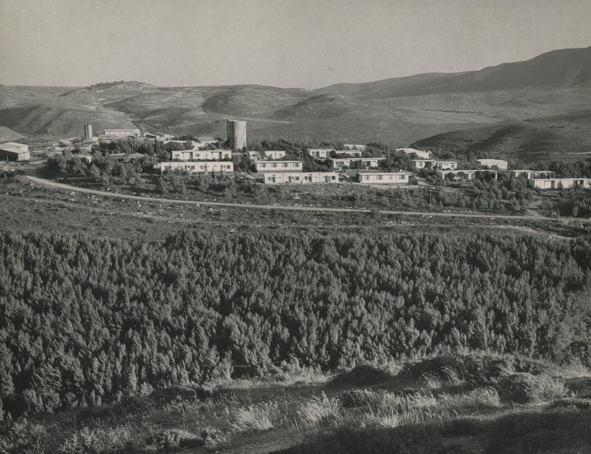 General view of a Kibbutz