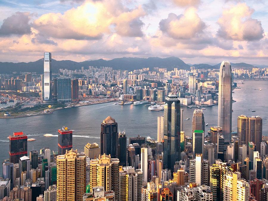 Prosperous Hong Kong