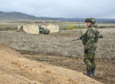Russian peacekeeper