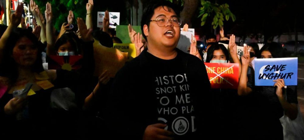THAILAND-CHINA-POLITICS-PROTEST