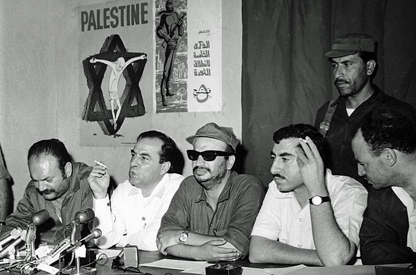 Arafat In Jordan