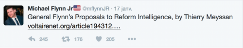 Flynn tweet