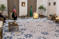 MBS received Pompeo