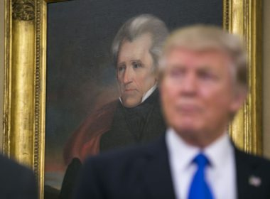 Trump and Jackson