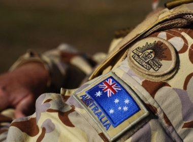Australian Troops Train For Duty In Afghanistan
