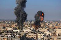 Explosion en Gaza