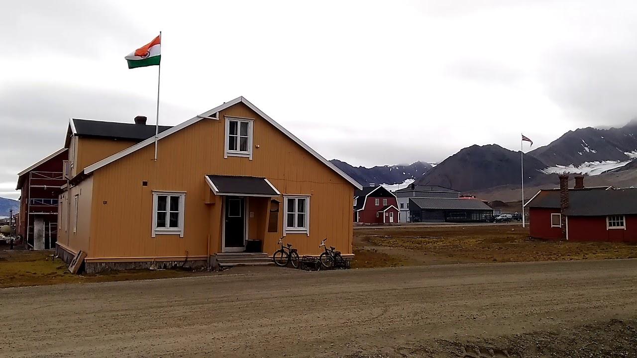 India's Arctic station