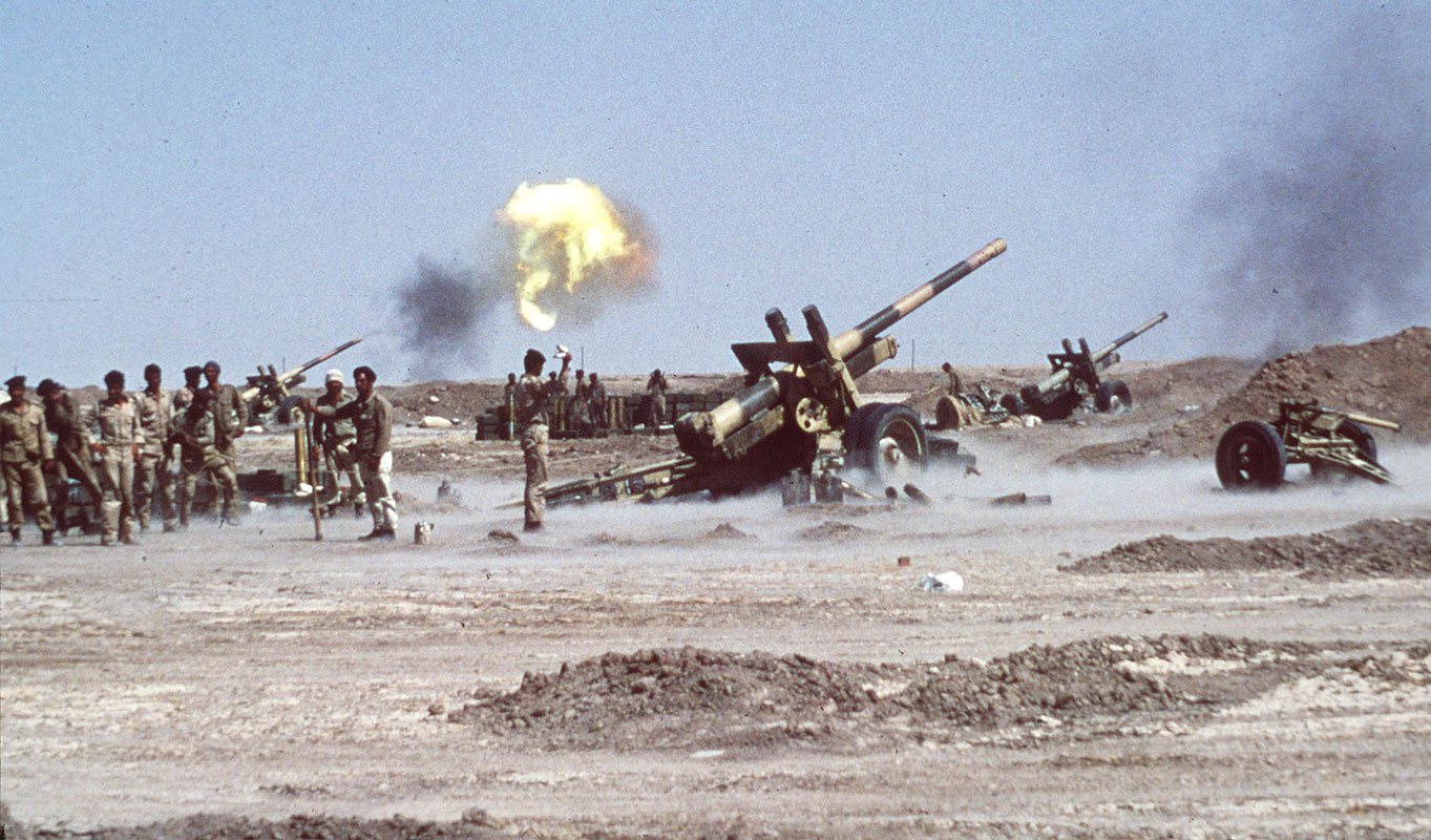 Iran-Iraqi War in the 1980s