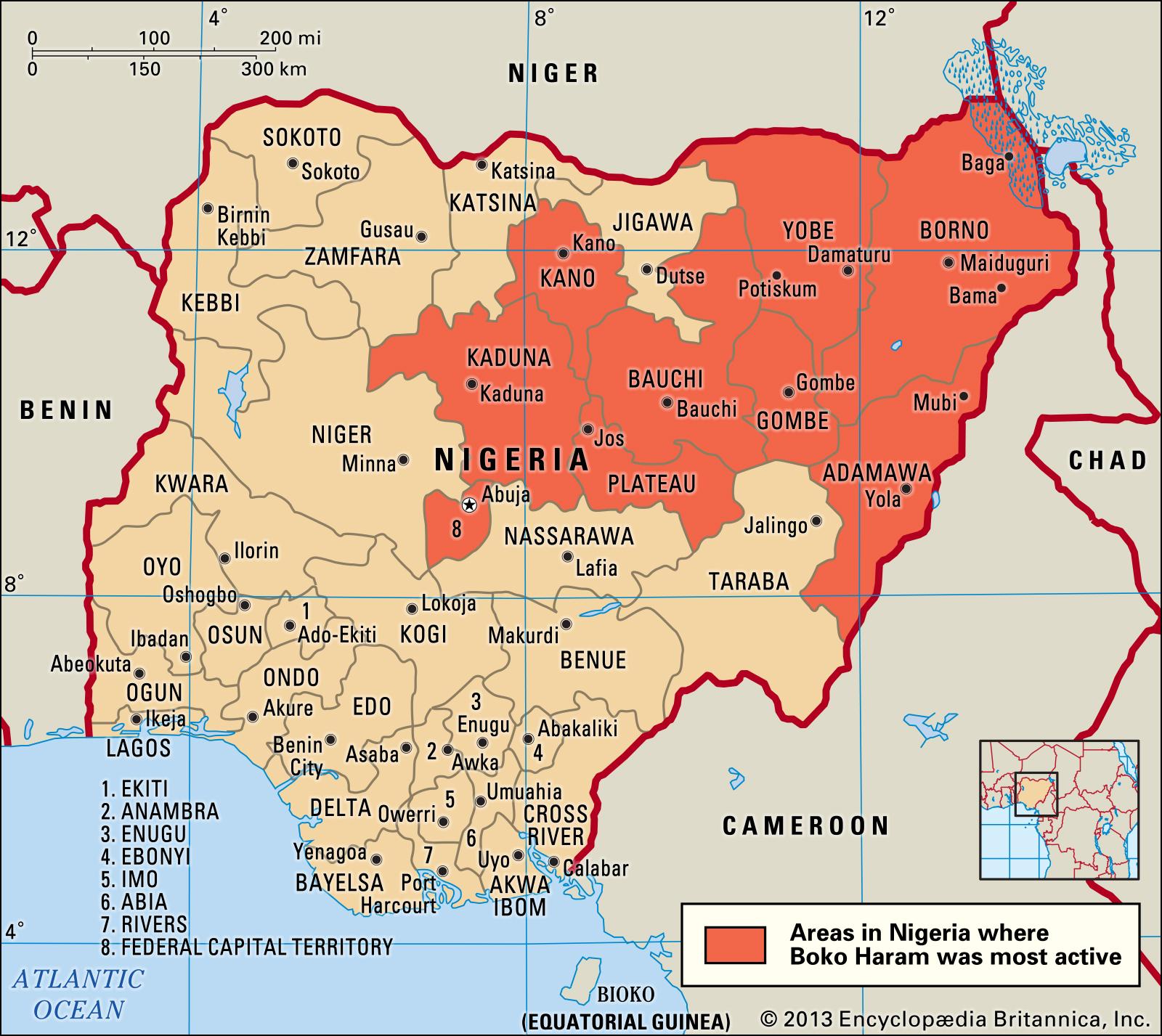 Nigeria-Areas-Boko-Haram
