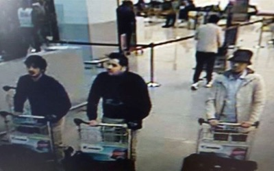 CCTV photo of Brussels-Zaventem airport