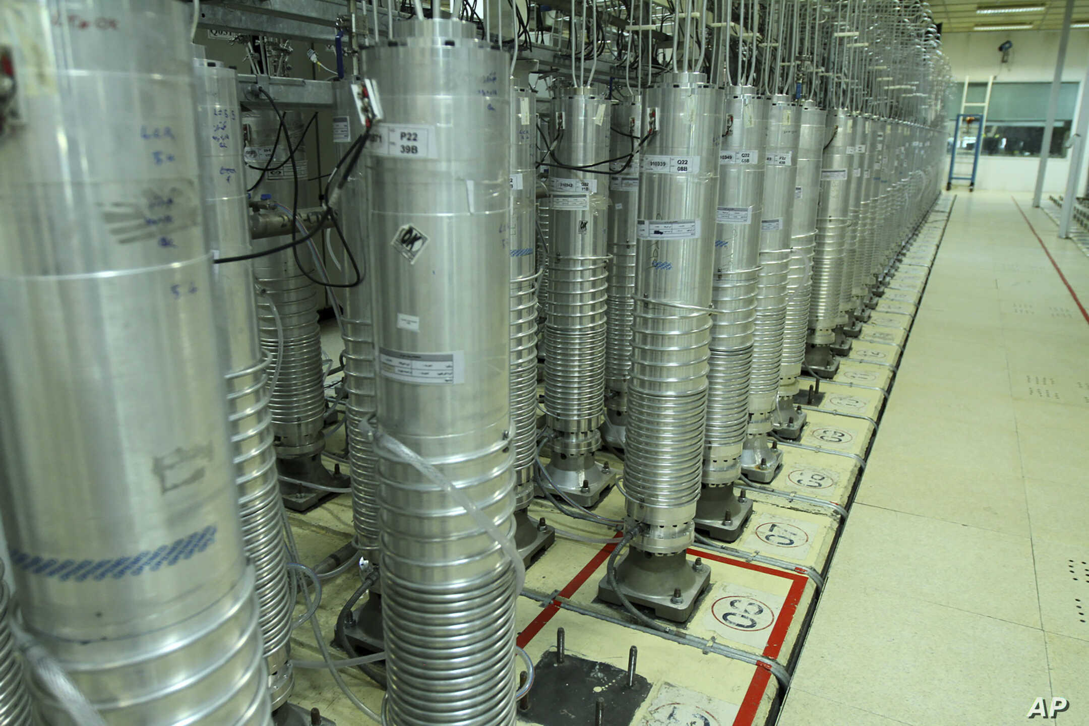 New generation of centrifuges at Iran's Natanz nuclear enrichment plant