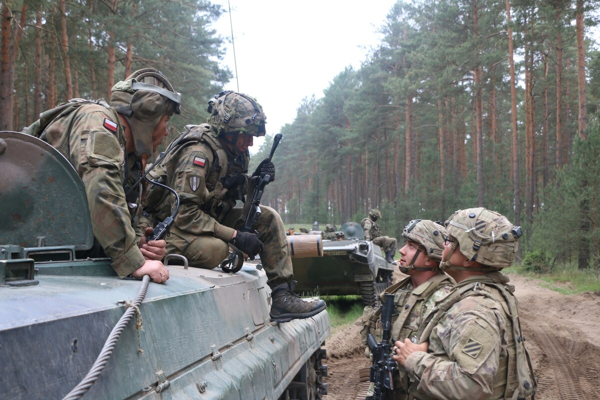 Polish ally soldiers