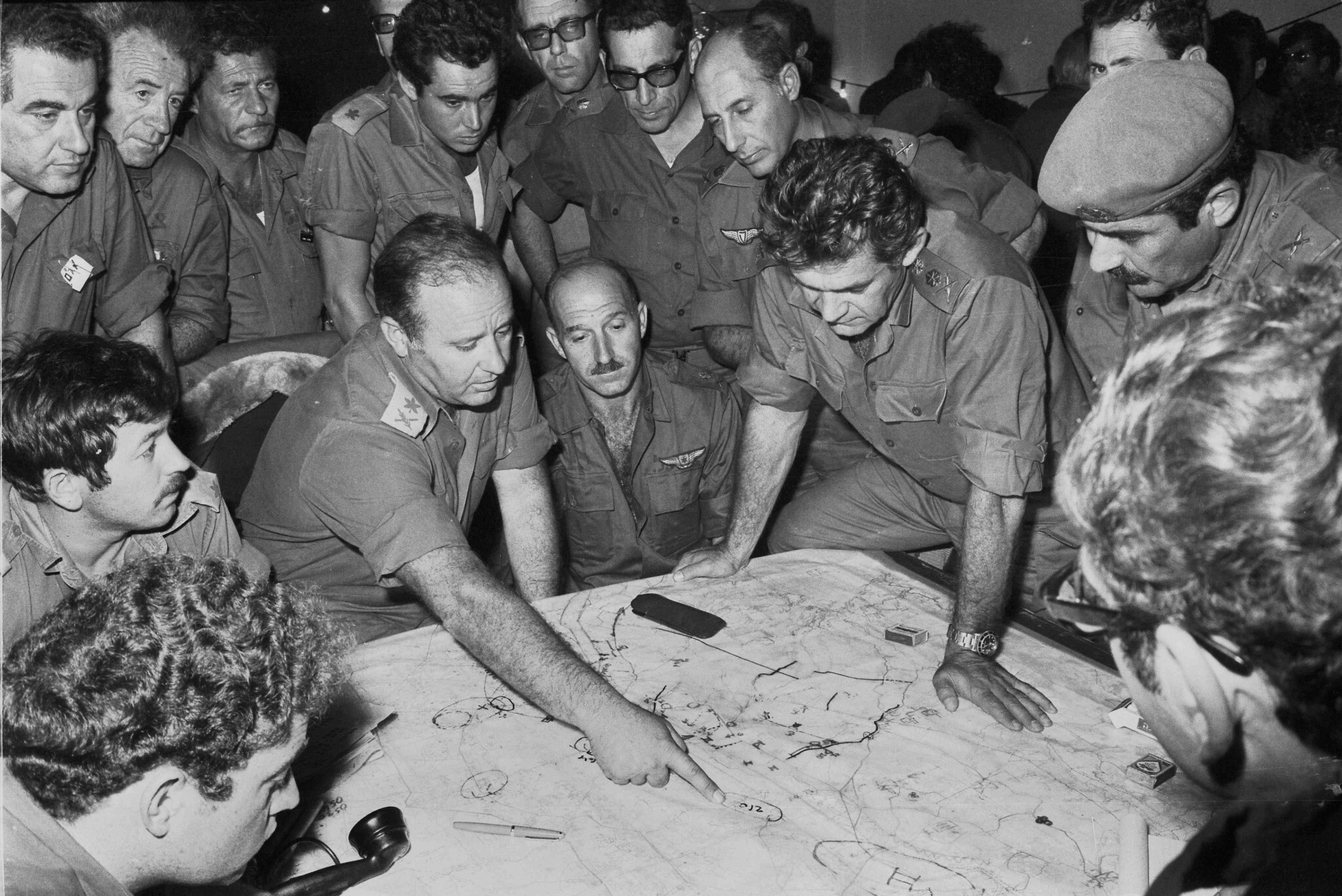 Top IDF officers Yom Kippur War