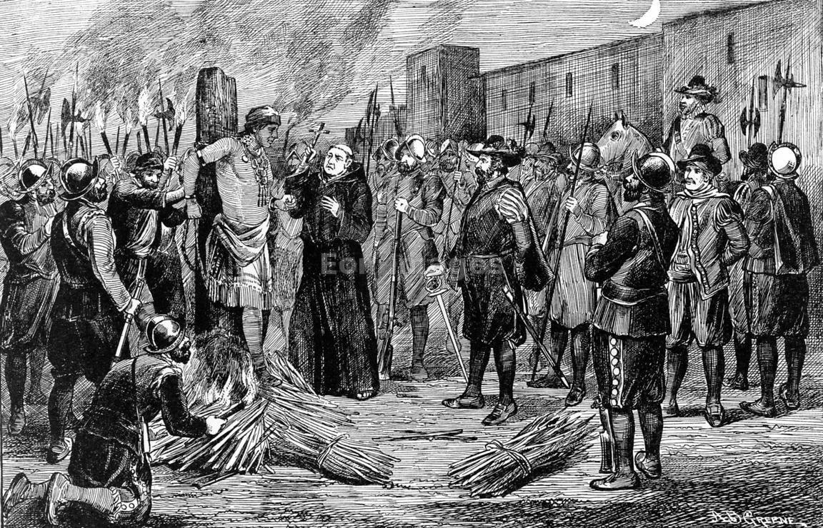 execution-of-atahualpa