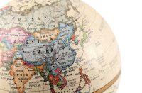 China global map