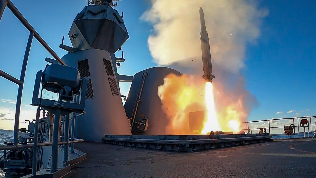 Australia's Guided Missile Plans