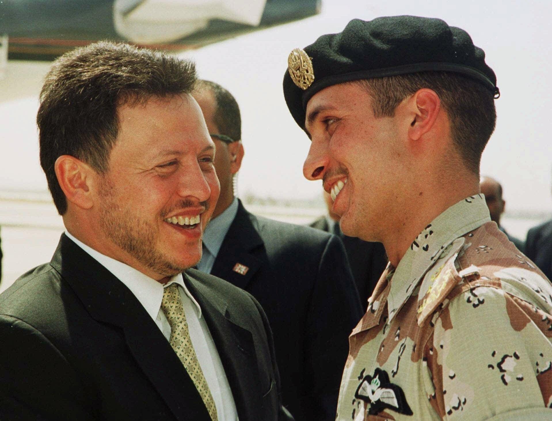 King Abdullah andPrince Hamza