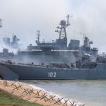 Military drill in Crimea