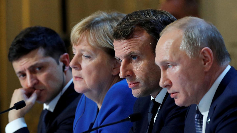 Paris meeting on Donbass