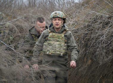 Zelensky in Donbass