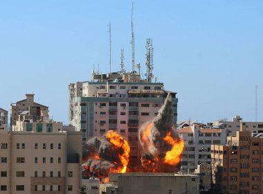 Building in Gaza City