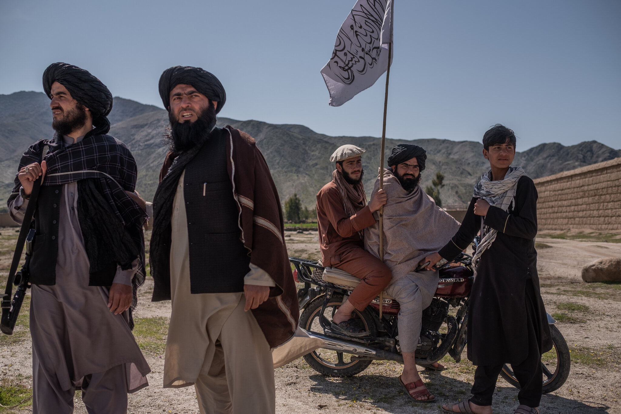 Taliban fighters in Laghman