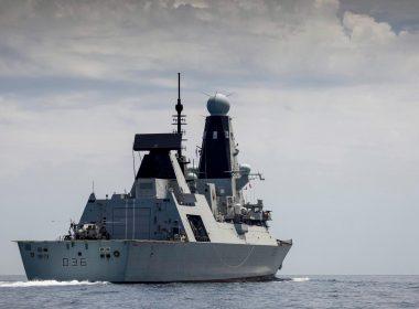 British destroyer