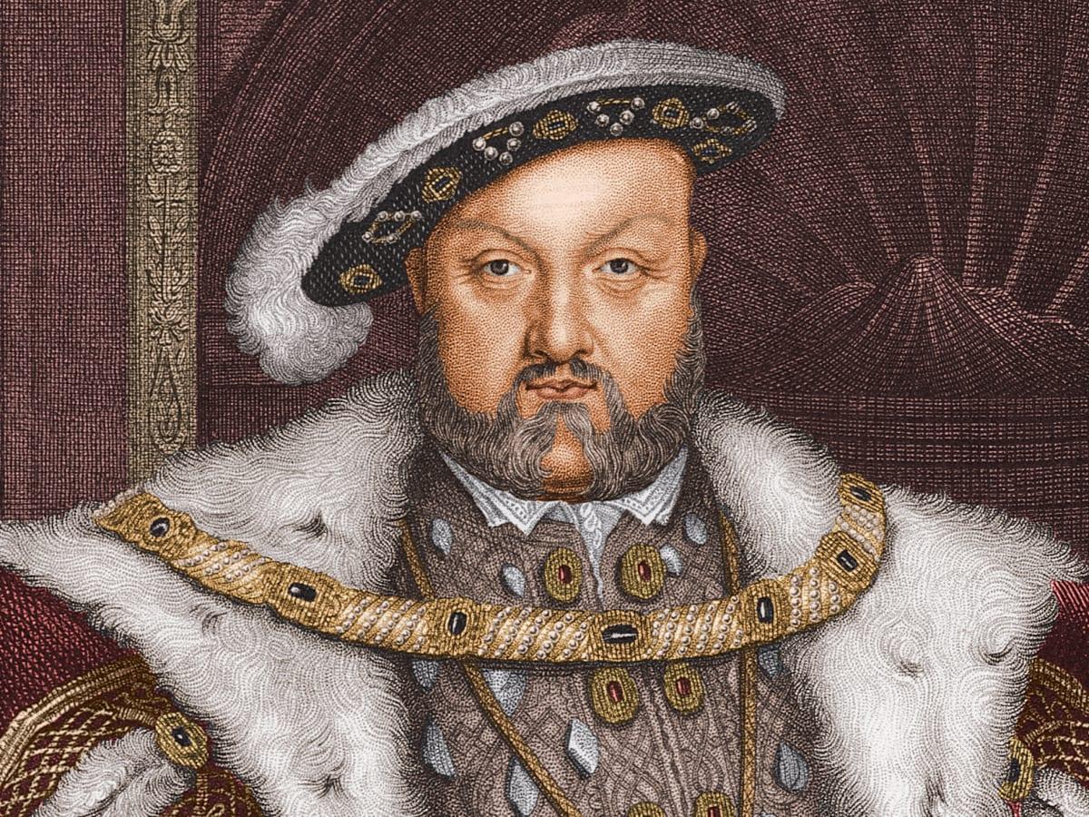 King Henry VIII of England 1491-1547-reigned-1509-47
