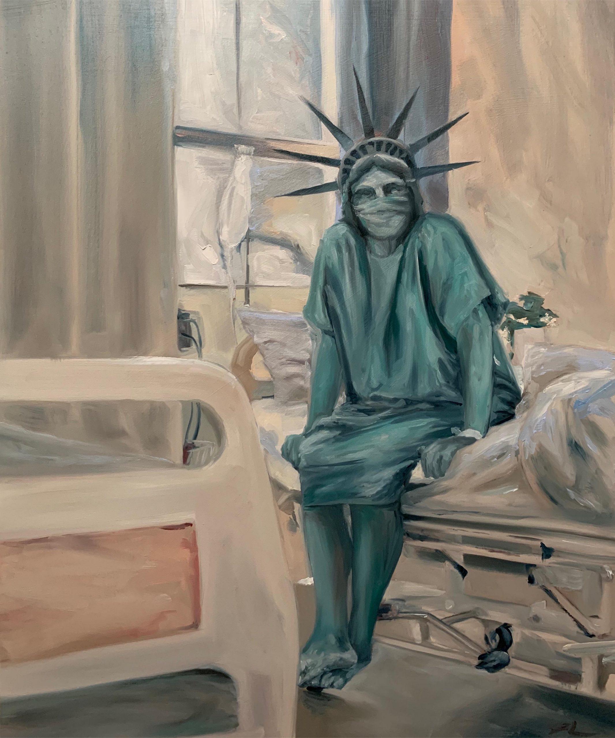 Liberty is sick