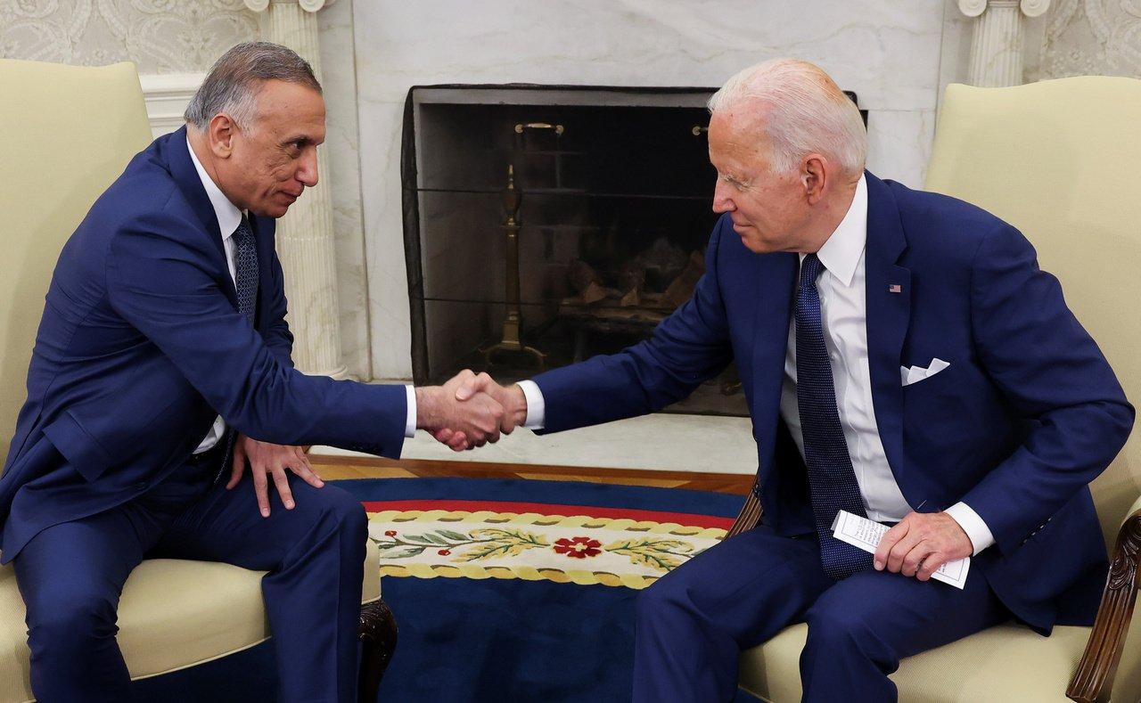 Biden and al-Kadhimi