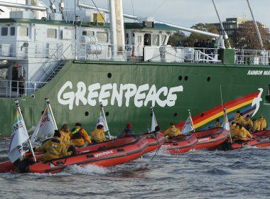 New Rainbow Warrior III Arrives At Hamburg Port