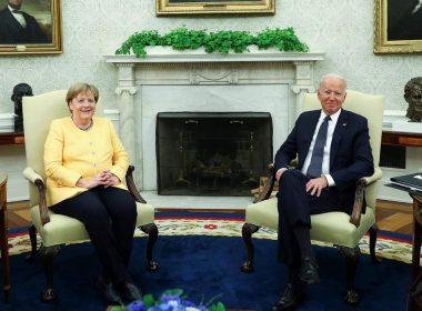 Merkel and Biden