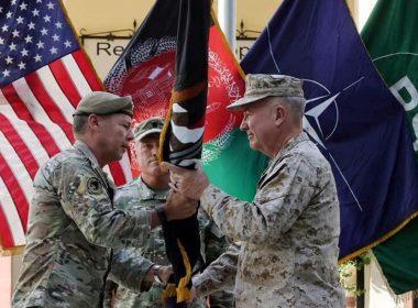 Three people in Afghanistan