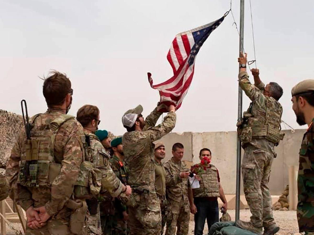 US troops leaving Afghanistan