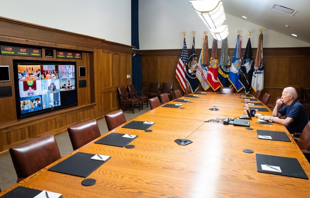 Biden Camp David