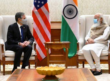 Blinken and Modi