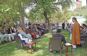 Afghan tribal leaders