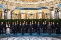 Family photo of the 20th summit SCO