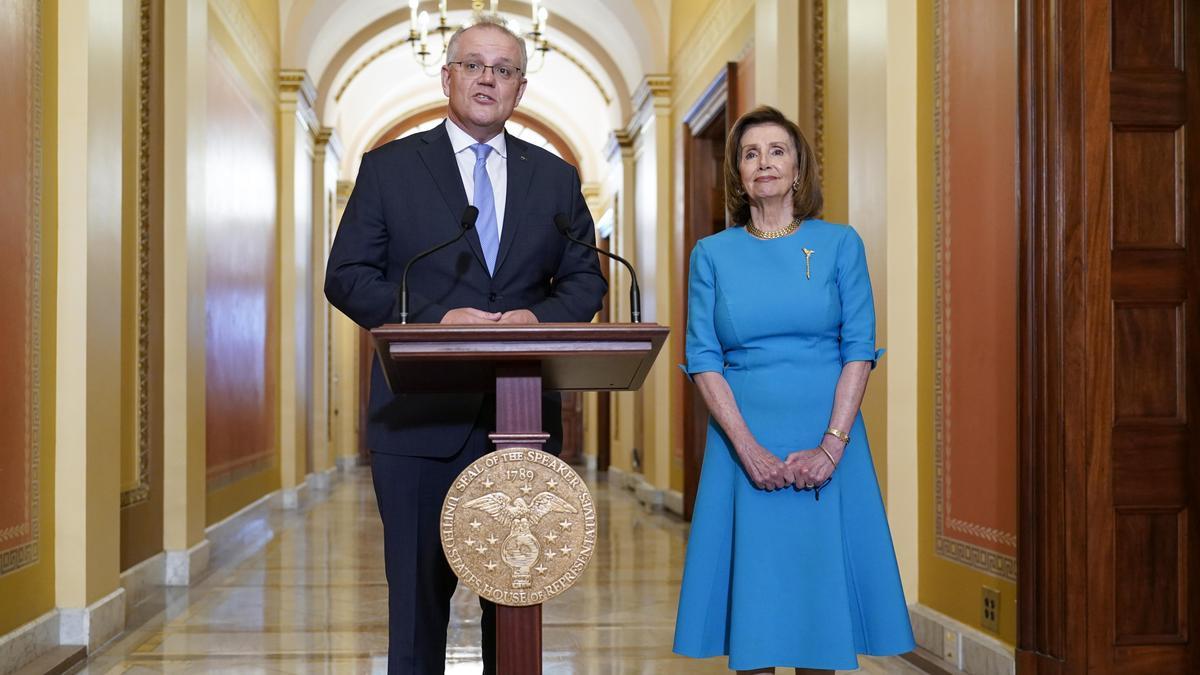 Scott Morrison, Nancy Pelosi