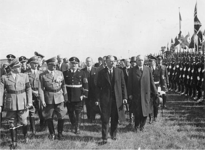 N. Chamberlain at Munich 1938