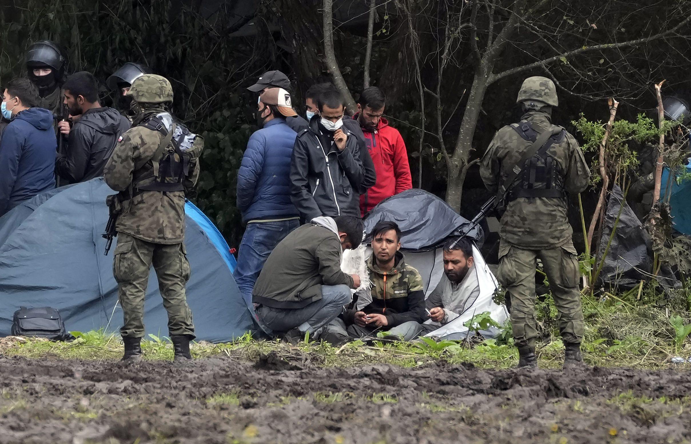 Réfugiés militarisés et attaques hybrides