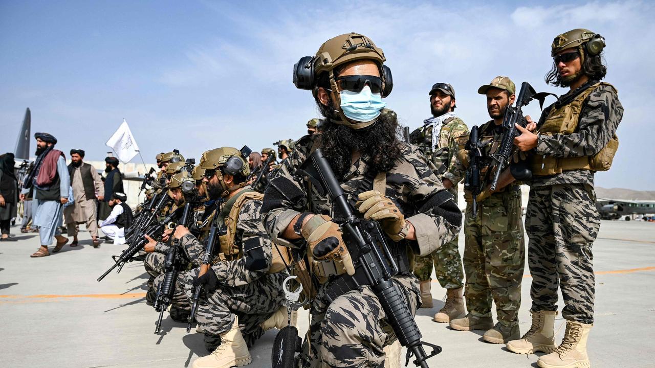 Taliban's elite military unit