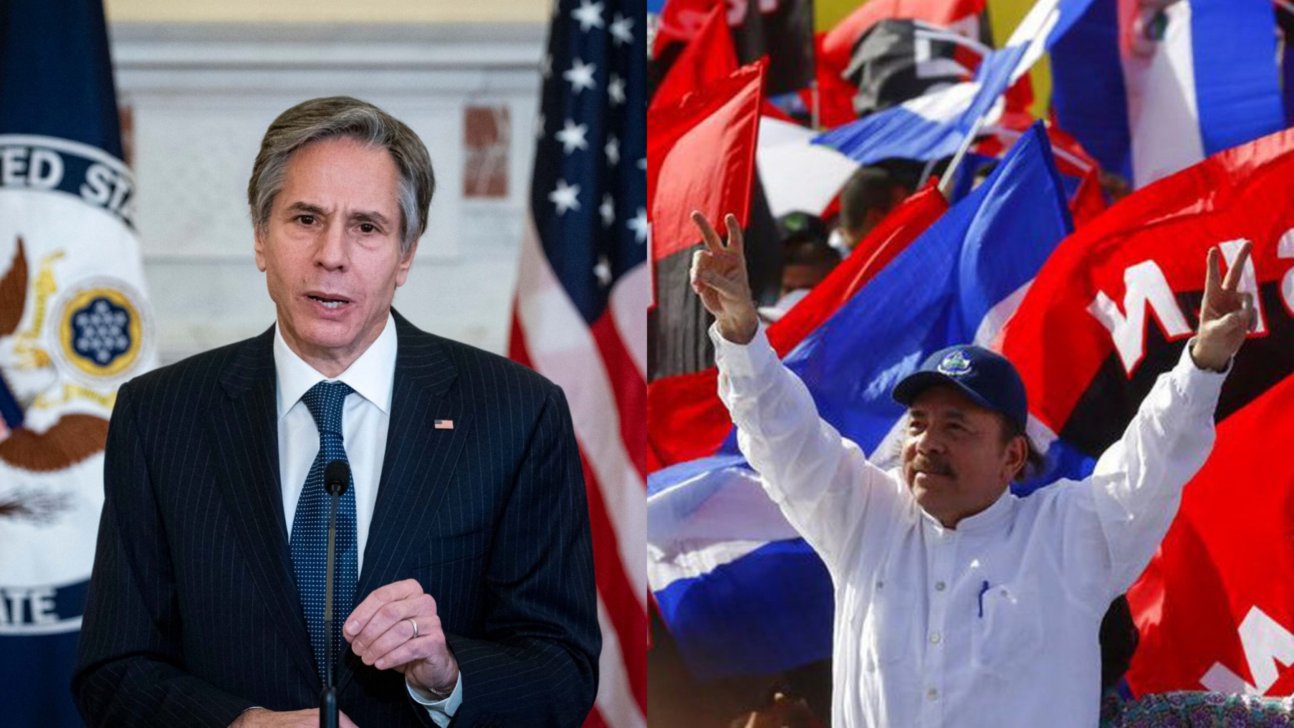 Blinken vs Ortega